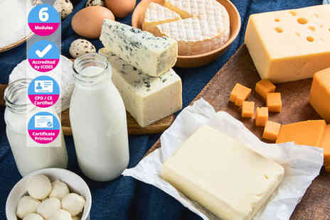 International Open Academy - Introduction to Cheese Making online course - Save 91%