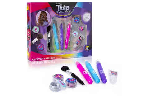 Vivo Mounts - Trolls World Tour hair glitter set - Save 86%