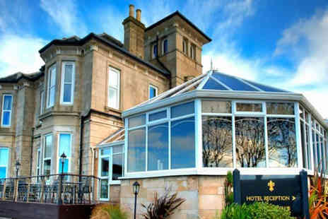 Fairfield House Hotel - An Ayr stay for two people with one glass of Prosecco each - Save 51%