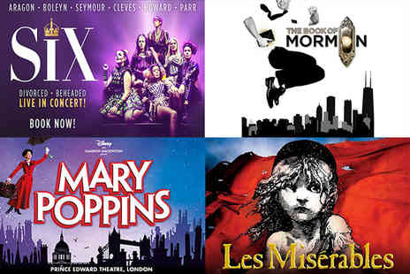 Just Book Sports - A London hotel stay & Choice of West End Show theatre tickets - Save 0%
