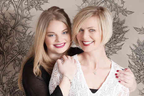 Nicola Bald Photography - Two hour mother and daughter photoshoot with a makeover, glass of bubbly each - Save 81%