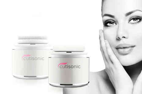 Cutisonic - Two in one makeup remover and applicator - Save 71%