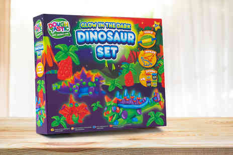 Vivo Mounts - Glowing dinosaur playdough set - Save 70%