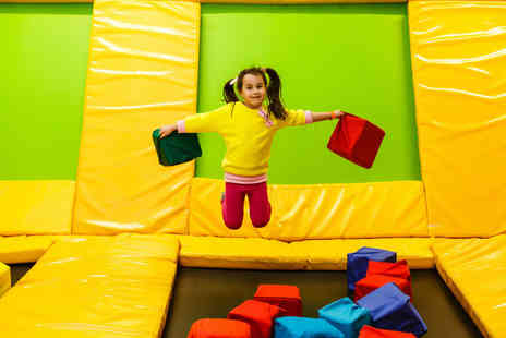 ibounce - Bounce and dine including trampolining entry, food and drink - Save 49%