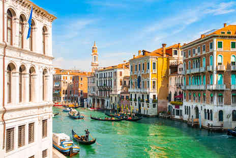 Crystal Travel - A Venice, Italy hotel stay with return flights - Save 40%