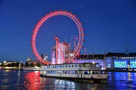 London Party Boats - Four hour party boat cruise - Save 32%
