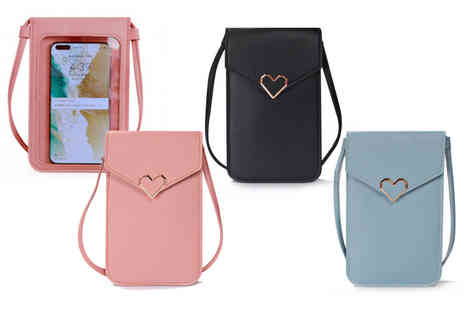 hey4beauty - Womens bag with a clear touch screen window - Save 65%