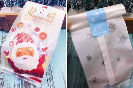 Topgoodchain - Pack of 50 Christmas gift bags - Save 0%