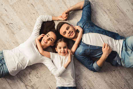 Viva Photographic - Family photoshoot with a makeover each and two A4 prints of your favourite image - Save 99%