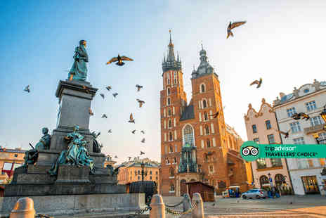 Crystal Travel - A Krakow, Poland hotel stay with breakfast and return flights - Save 46%