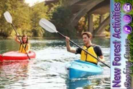New Forest Activity Centre - Two Hour Kayak or Canoe Tour For Two - Save 61%