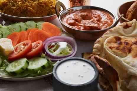 Mint Leaves - Two Course Indian Meal for Two or Four - Save 44%