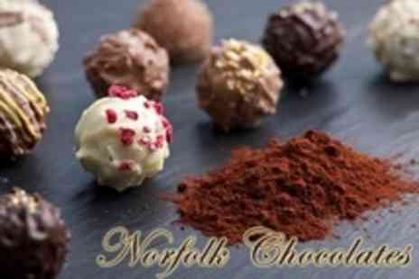 Norfolk Chocolates - Half Day Chocolate Truffle Making Workshop For One - Save 60%