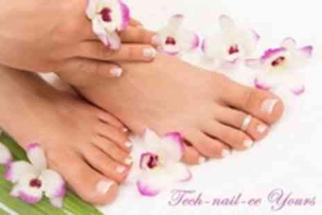 Tech Nail ee Yours - Paraffin Wax Manicure, Luxury Pedicure - Save 60%