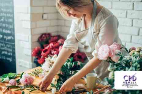 Alpha Academy - Floristry and Flower Arrangement Online Course - Save 94%