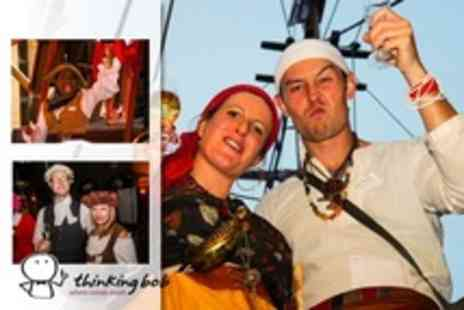 Thinking Bob - Pirate Themed Murder Mystery With Dinner Aboard the Golden Hinde For One - Save 46%