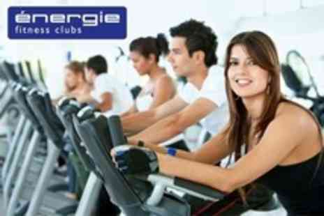 Energie - Four Weeks Gym Membership Plus Four Personal Training Sessions - Save 88%