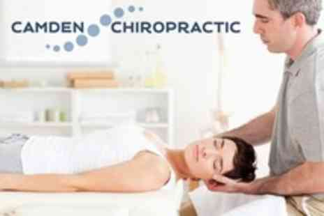 Camden Chiropractic - Consultation Plus Camden Chiropractic Three Treatments - Save 76%