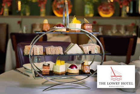 The Lowry Hotel - An afternoon tea for two people with a gin and tonic each - Save 34%