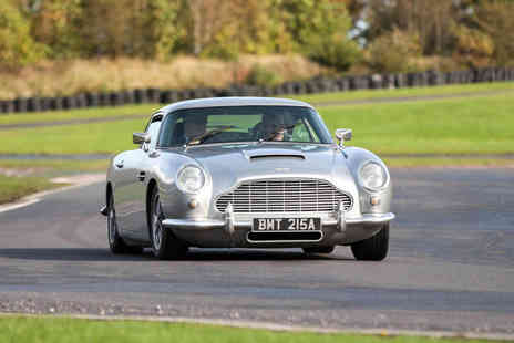 U Drive Cars - Three mile Aston Martin DB5 driving experience - Save 51%