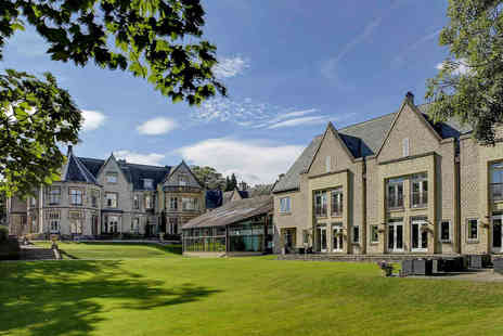 Kenwood Hall Hotel - A Sheffield stay for two with welcome drink each, two course dinner and breakfast - Save 34%