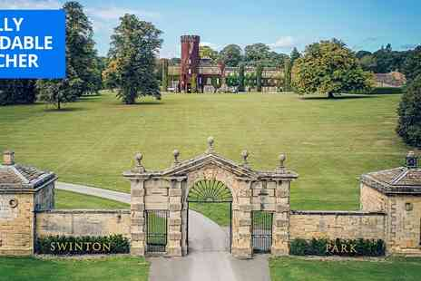 Swinton Park - Exquisite afternoon tea for 2 at North Yorks estate - Save 33%