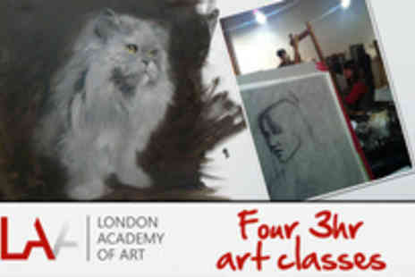 The London Academy Of Art - Do you see yourself as the next Picasso? Enjoy a month of Art Classe - Save 90%
