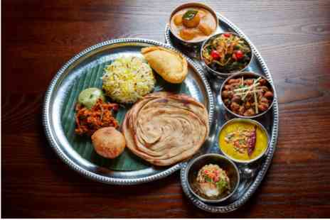 Benares - Bottomless Thali Food and Drinks for Two - Save 0%