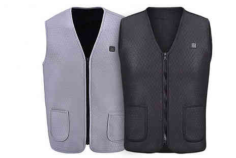 Bag A Bargain - USB Electric Washable Heated Vest Jacket - Save 64%