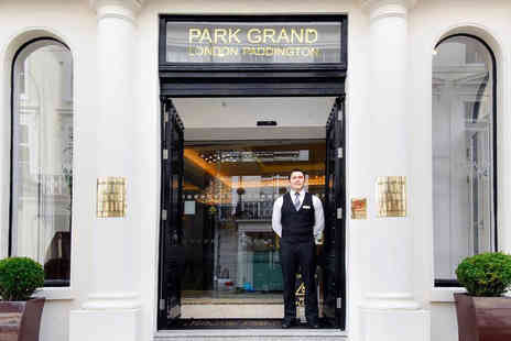 Park Grand London Paddington Hotel - Stay for two in a deluxe double room with breakfast - Save 0%