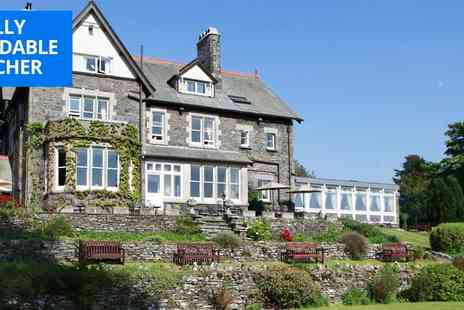 Sawrey House Hotel - Afternoon tea for 2 in Cumbria country house - Save 50%