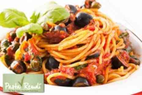 Pasta Remoli - An Italian meal for 2 including pasta dish, salad & soft drink each - Save 50%