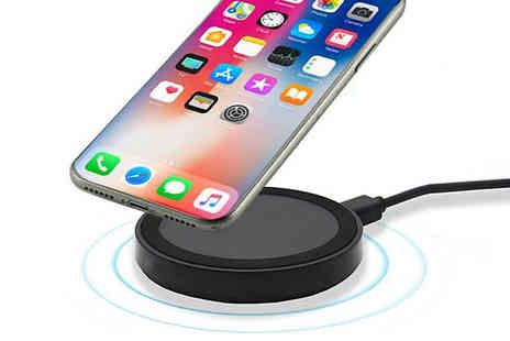 Shop Story - IPhone or Android Compatible Wireless Induction Charger - Save 75%