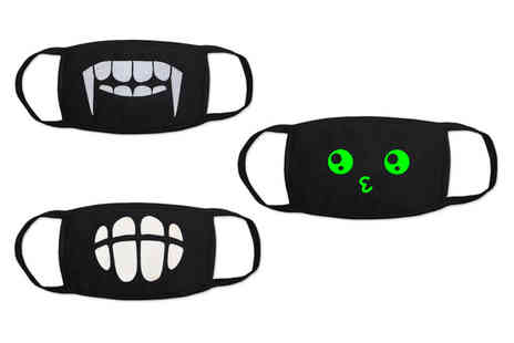 Topgoodchain - One glow in the dark face covering - Save 0%