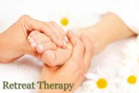 Retreat Therapy - 30 minute reflexology massage and a 30 minute holistic facial - Save 78%