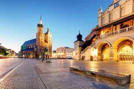 Weekender Breaks - A Krakow, Poland hotel stay with return flights from six airports - Save 37%