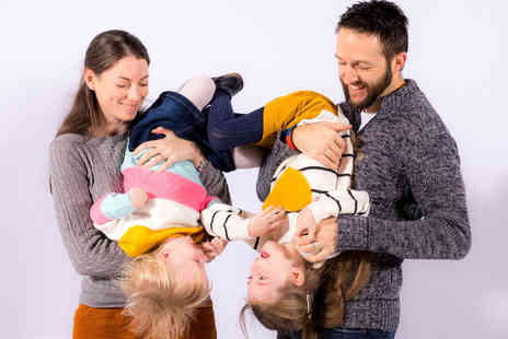 Steve Selby Photography - One hour family photoshoot including a viewing session and 8 Inch x 6 Inch framed photograph - Save 0%