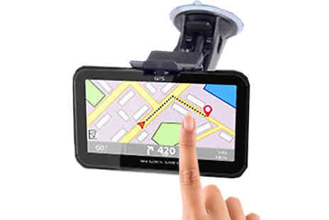Bag A Bargain - HD Car Sat Nav with UK and European Maps - Save 85%