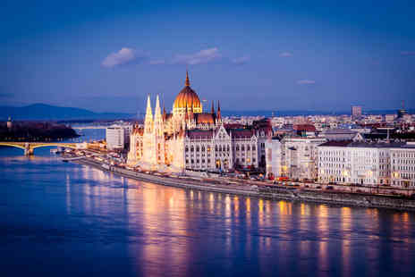 Super Escapes Travel - A Budapest, Hungary hotel stay with return flights from three airports - Save 56%