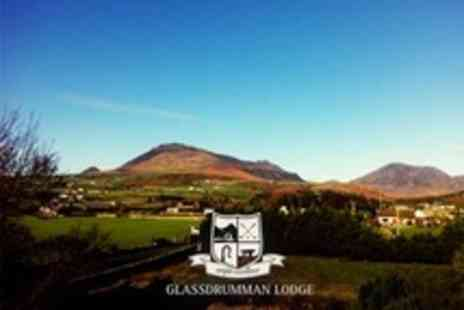 Glassdrumman Lodge - Romantic Stay For Two With Prosecco, Chocolates, and Rose Petals  - Save 51%