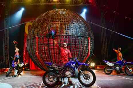 Circus Montini - One best available front circle ticket - Save 44%