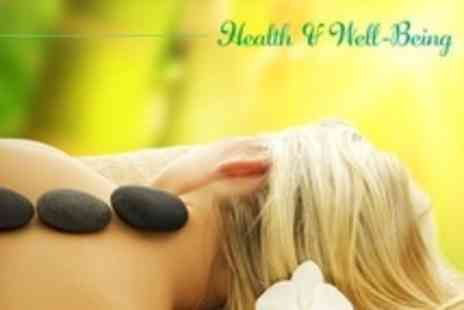 Health and Well Being Spa - Full Body Aromatherapy, Hot Stone or Swedish Massage - Save 58%