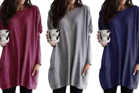 Groupon Goods Global GmbH - Casual Long Sleeved Top - Save 75%