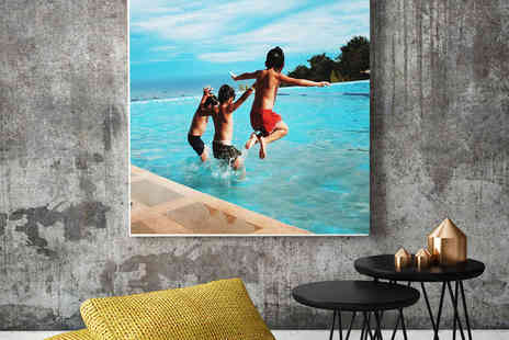 Colour House - Personalised A1 canvas - Save 0%