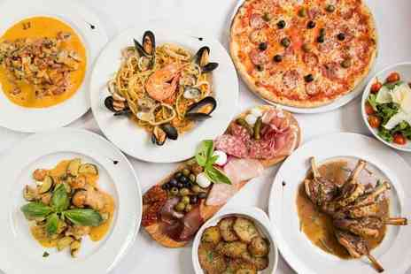 Giuseppes Ristorante & Pizzeria - Two course dining and a glass of Prosecco each for two people - Save 71%