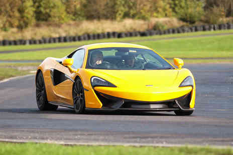 U Drive Cars - Three mile McLaren 570S driving experience - Save 51%