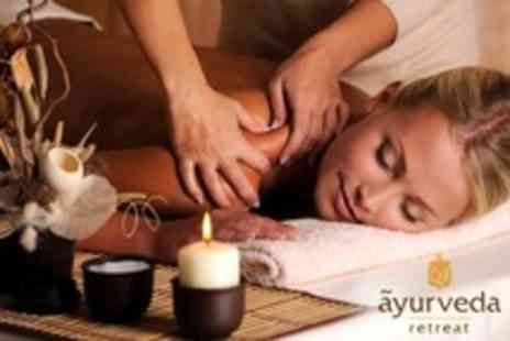 Ayurveda Retreat - Choice of One Hour Full Body Massage or Facial - Save 60%