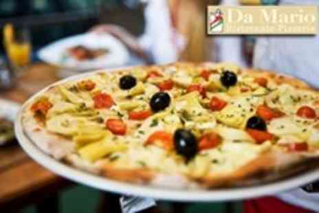 Da Marios Restaurant - Italian Cuisine with Chicken, Pizza or Pasta Meal For Two With Wine - Save 62%