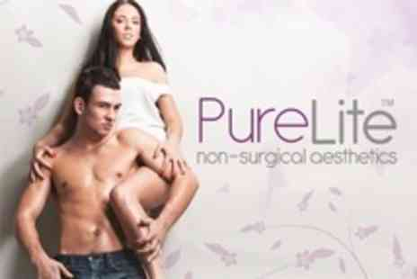 PureLite - Six IPL Hair Removal Sessions On Two Small Areas or One Medium Area - Save 78%