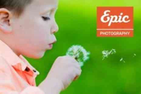 Epic Photography - Photoshoot With Prints including Studio, Location or Makeover - Save 90%